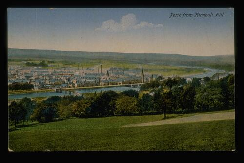 Perth from Kinnoull Hill.