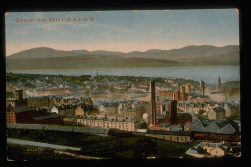 Greenock from Whin Hill.