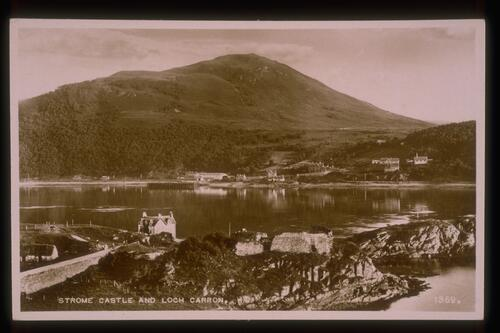 Strome Castle & Loch Carron.