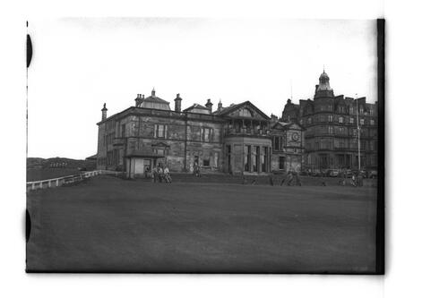 R&A Clubhouse and Grand Hotel.