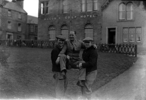 Army golfers, St Andrews.