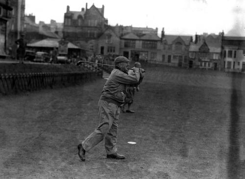 Army golfer, St Andrews.
