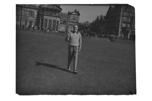 Bob Hope at St Andrews.