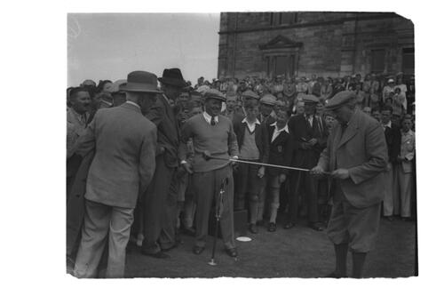 Bobby Jones, St Andrews.