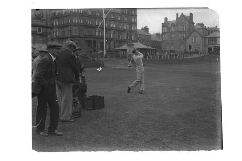 Hector Thomson at St Andrews.