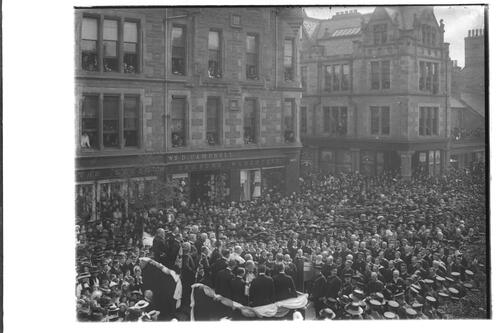 Proclamation, St Andrews, 1910.