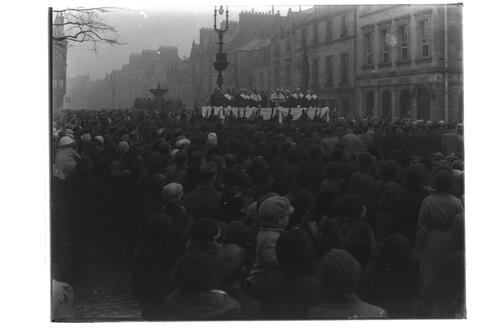 Proclamation, St Andrews, 1936.