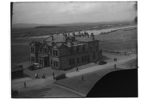R&A, and West Sands, St Andrews.