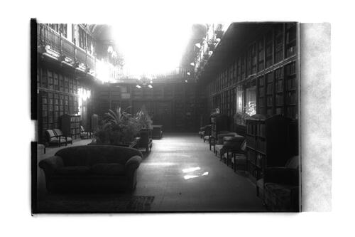 Arts Reading Room, St Andrews.