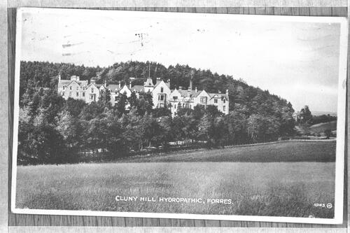 Cluny Hill Hydropathic, Forres.
