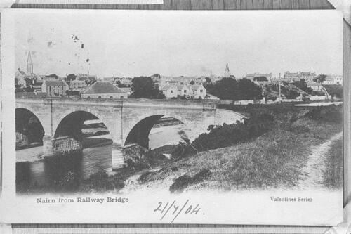 Nairn Railway Bridge.