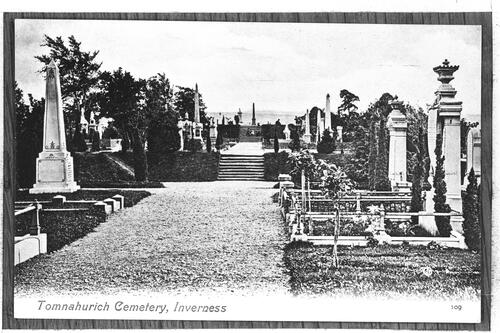 Tomnahurich Cemetery, Inverness.