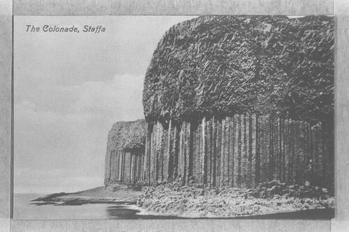 The Colonade, Staffa.