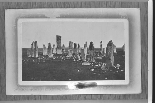 Druidical Stones at Callanish.