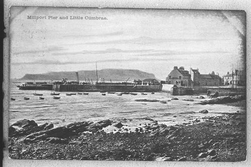 Millport Pier and Little Cumbrae