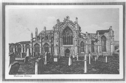 Melrose Abbey.