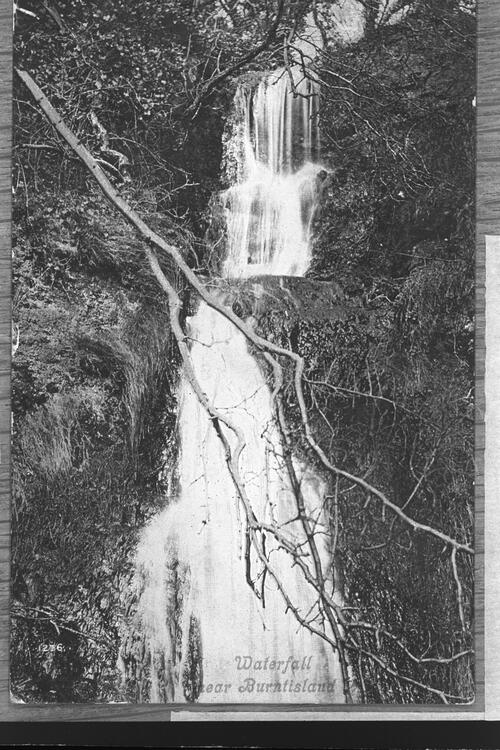 Waterfall near Burntisland.