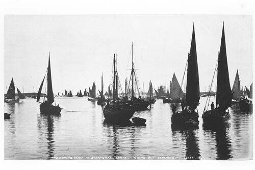 The Herring Fleet at Stornoway.