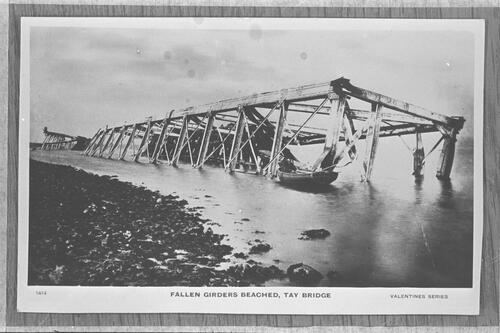 Fallen girders, Tay Bridge.
