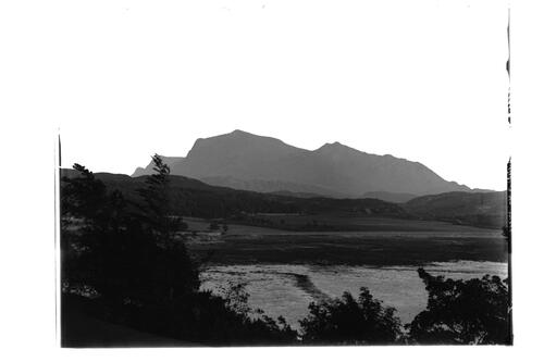 The Mountain from Inverewe, Rosshire.