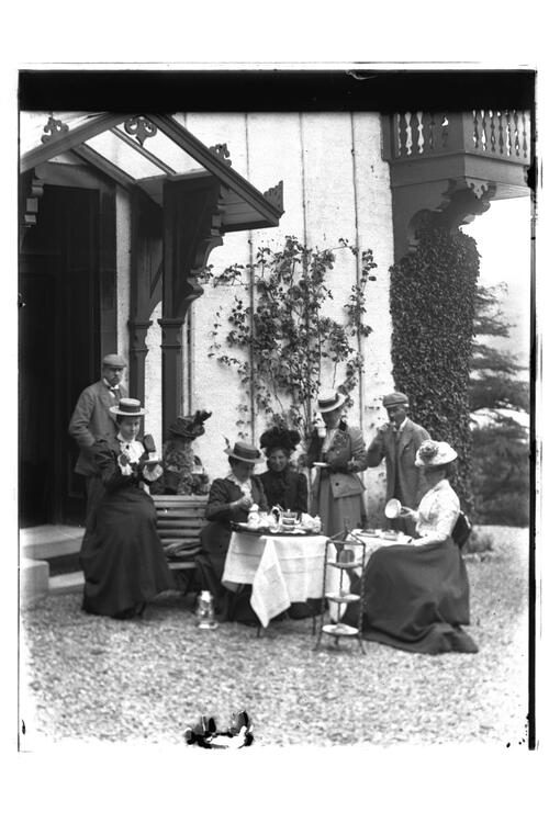 Group at the Chalet, Tighnabruaich.