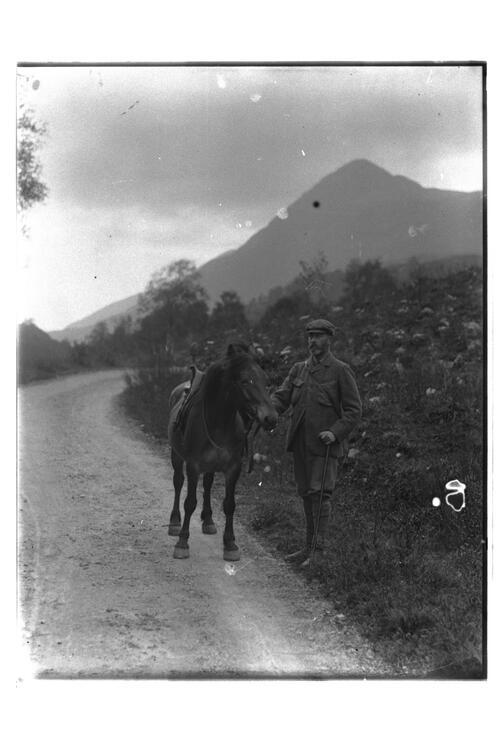 Col Erskine and Pony.