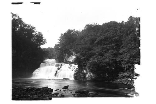 Falls of Clyde at Corra Linn.