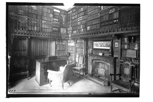 The study, Abbotsford.