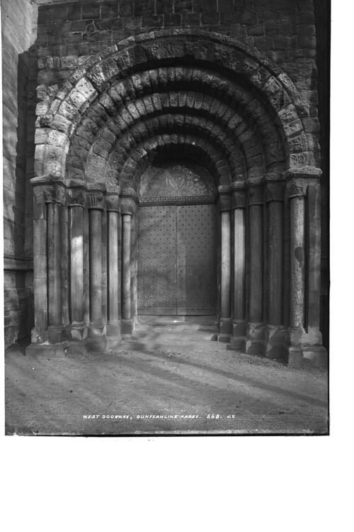 Doorway, Dunfermline Abbey.