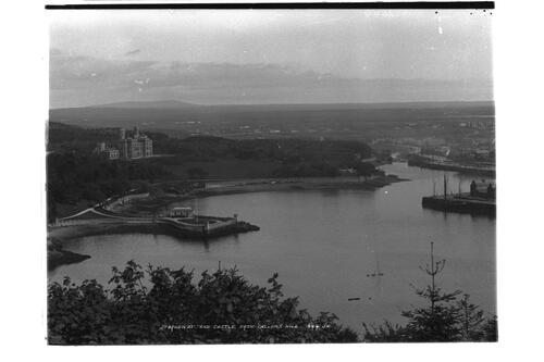 Stornoway and castle.