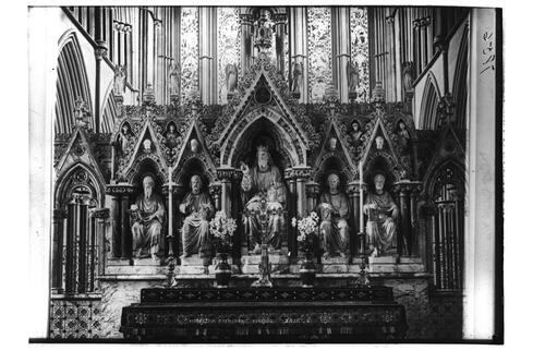 Reredos, Worcester Cathedral.