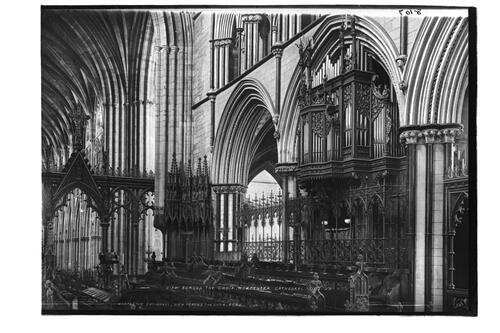 Choir, Worcester Cathedral.