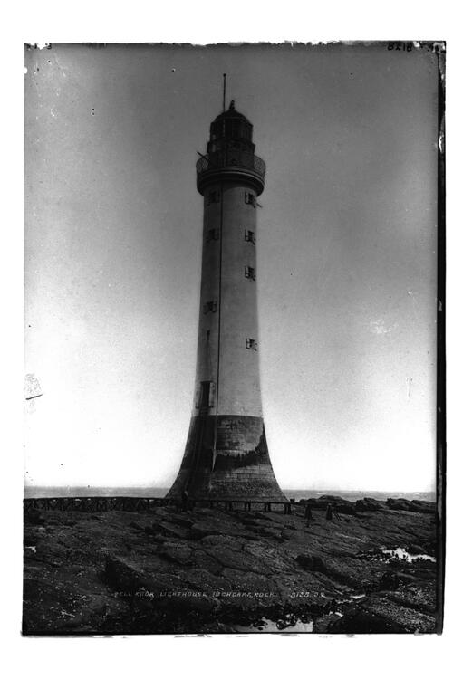 The Bell Rock lighthouse.