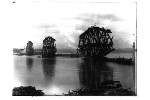 Forth Bridge from south west.