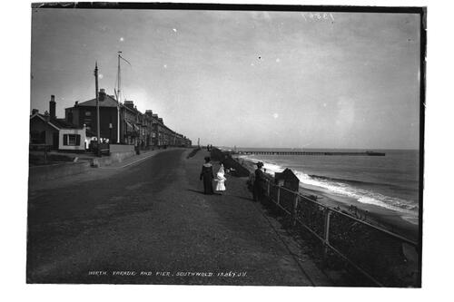 North parade and pier Southwold.