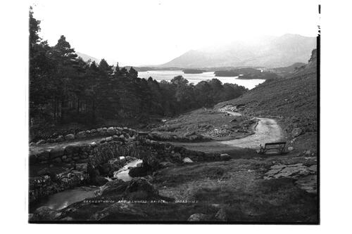 Derwentwater and Ashness Bridge.
