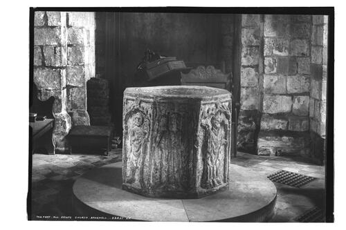 All Saints Font, Bakewell.