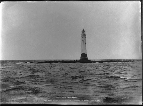 Bell Rock Lighthouse.