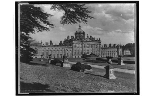 Castle Howard from south west.