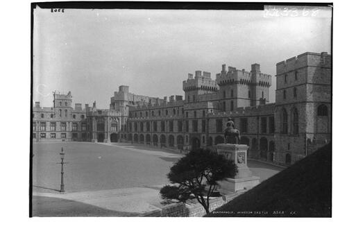 Quadrangle, Windsor Castle.