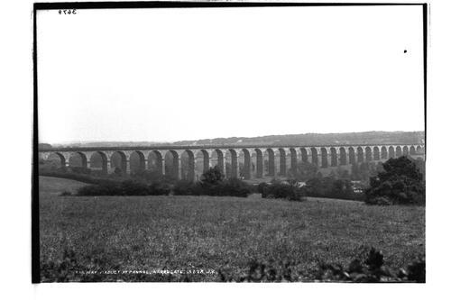 Railway viaduct, Harrogate.