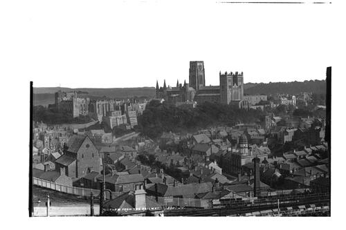 Durham from the railway.