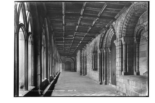 The Cloisters, Durham Cathedral.