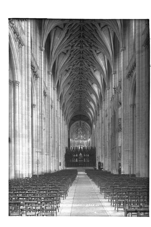 Nave, Winchester Cathedral.