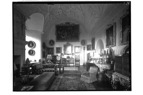 Glamis Castle. Drawing Room.
