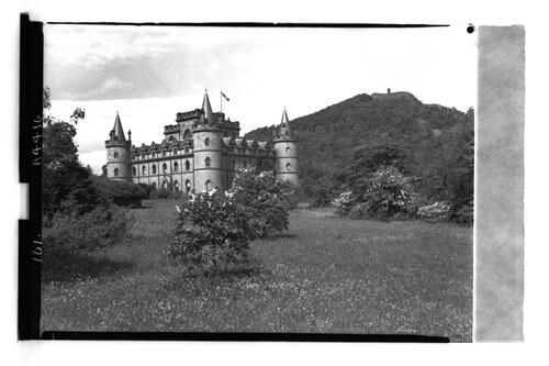 Inveraray Castle and Duniquaich.