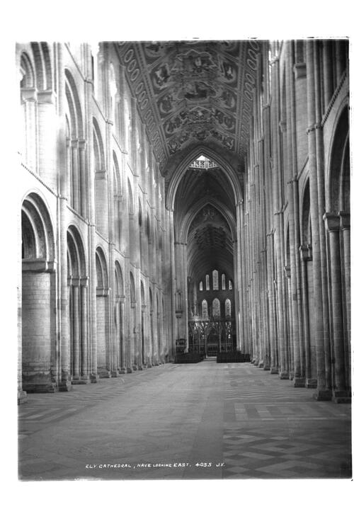 Nave looking east, Ely Cathedral