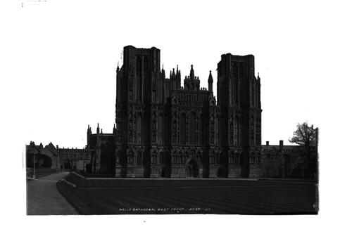 Wells Cathedral, west front.