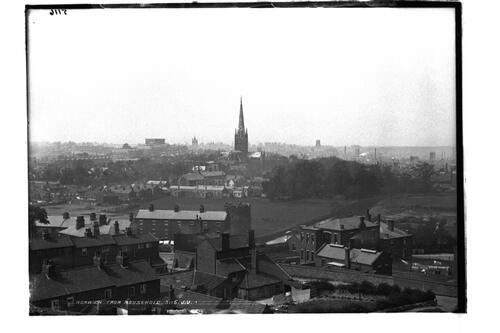 Norwich from Mousehold.