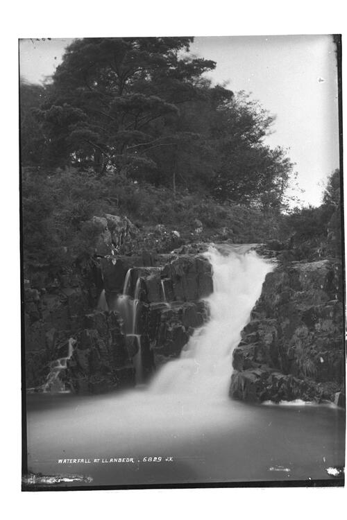 Waterfall at Llanbedr.
